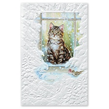 Merry Meow Card