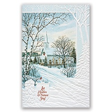 Christmas Church Card