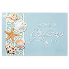 Sea  Lover's Shells Card