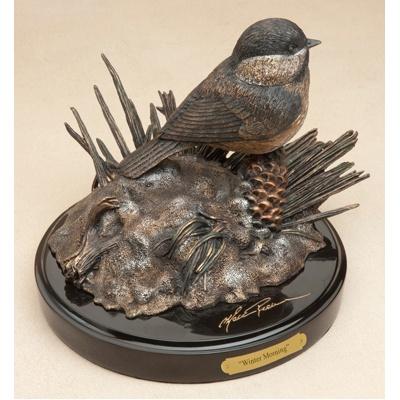Chickadee Sculpture