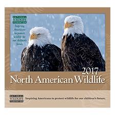 NWF 2017 Wildlife Wall Calendar
