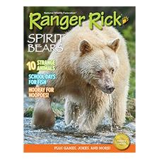Ranger Rick Magazine Sept 2014