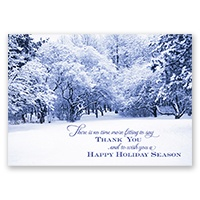 Winter's Embrace Card