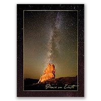 Arches and the Milky Way Card