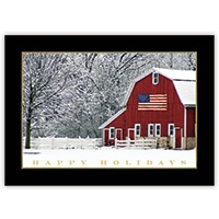 Holiday Barn Card