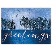Tranquil Evening Card