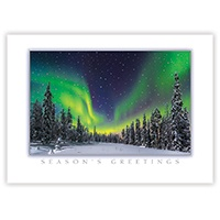 Northern Light Show Card