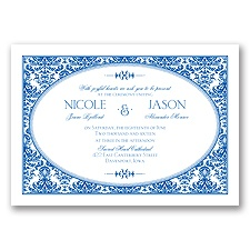 Joyful Damask - Horizon - Invitation