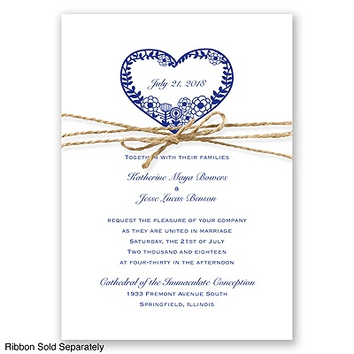 Natures Heart - Regency - Invitation