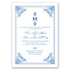 Vintage Fanfare - Horizon - Invitation