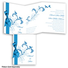 Bridal Eden - Cornflower - Invitation