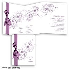Dreamy Roses - Wisteria - Invitation