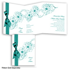 Dreamy Roses - Jade - Invitation
