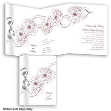 Dreamy Roses - Rosewood - Invitation