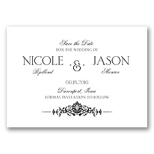 Joyful Damask - Save the Date