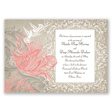 Vintage Love - Coral Reef - Invitation