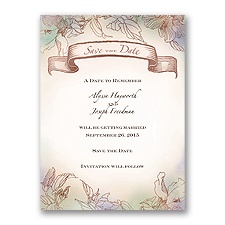 Vintage Style - Save the Date