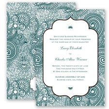 Happily Henna - Gem - Invitation