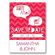 Marry Moment - Poppy - Save the Date Magnet