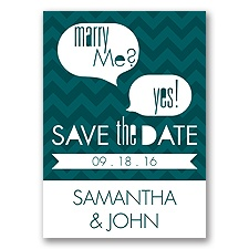 Marry Moment - Gem - Save the Date Magnet