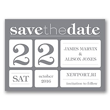 Delightful Date - Mercury - Save the Date Magnet