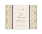 Wrapped In Lace - Save the Date Card