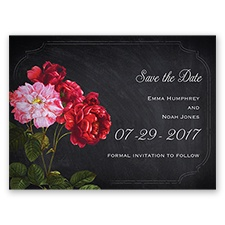 Ravishing Roses - Poppy - Save the Date