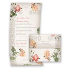 Classic Vintage Roses - Seal and Send