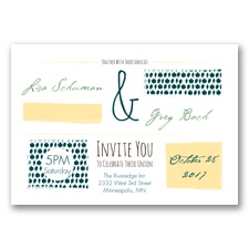 Flirty Fall Fling - Gem - Invitation