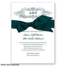 Down the Aisle - Gem - Invitation