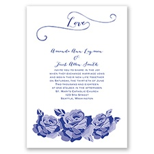 Love In Full Bloom - Regency - Invitation