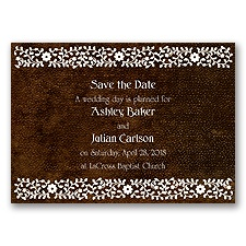 Moroccan Mystery - Chocolate - Save the Date Magnet