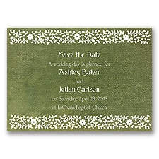 Moroccan Mystery - Clover - Save the Date Magnet