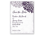 Burst of Colorful Love - Save the Date Magnet