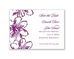 Plumeria Fantasy - Save the Date Magnet