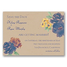 Fleur de Lovely - Regency - Save the Date Magnet