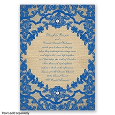 Honeymoon Lace - Horizon - Invitation