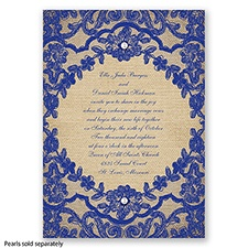 Honeymoon Lace - Regency - Invitation