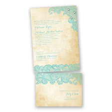 Lacy Look - Pool - Value Invitation Set