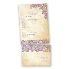 Lacy Look - Wisteria - Value Invitation Set
