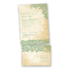 Lacy Look - Clover - Value Invitation Set