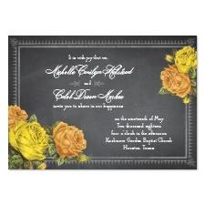 Romantic Chalkboard Roses