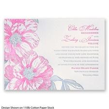 Vintage Wild Roses Letterpress