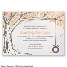 Autumn Romance Letterpress