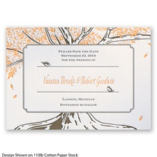 Autumn Romance Letterpress