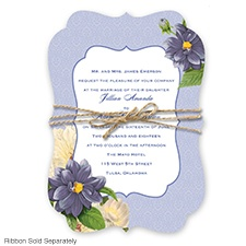 Floral Serenade - Regency - Invitation
