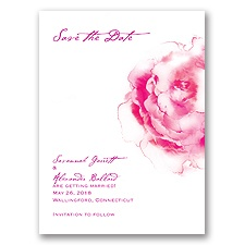 Ombre Elegance - Begonia - Save the Date