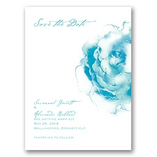 Ombre Elegance - Pool - Save the Date