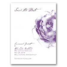 Ombre Elegance - Wisteria - Save the Date