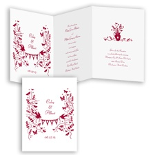 Rustic Romance - Apple - Invitation